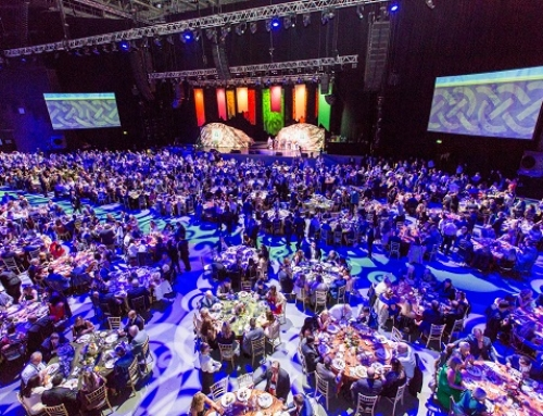 3Arena hosts one of the largest-ever sit-down catered events