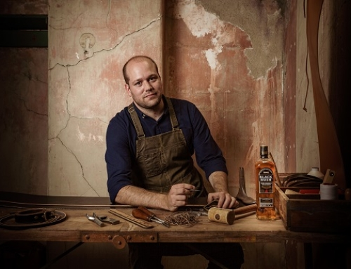 #BlackBushStories series joins Irish whiskey and leather craft