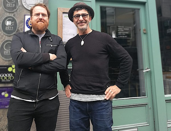 JP McMahon and Christophe Dufau.