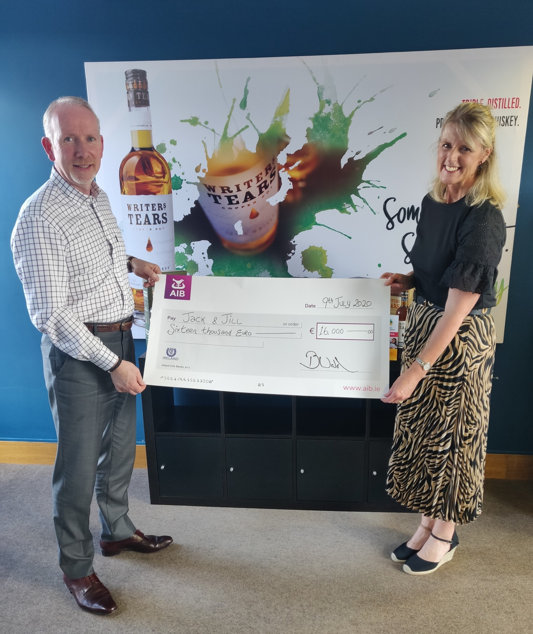 Walsh Whiskey Community Successfully Raises €16,000 for Seriously Ill Children Under 5
