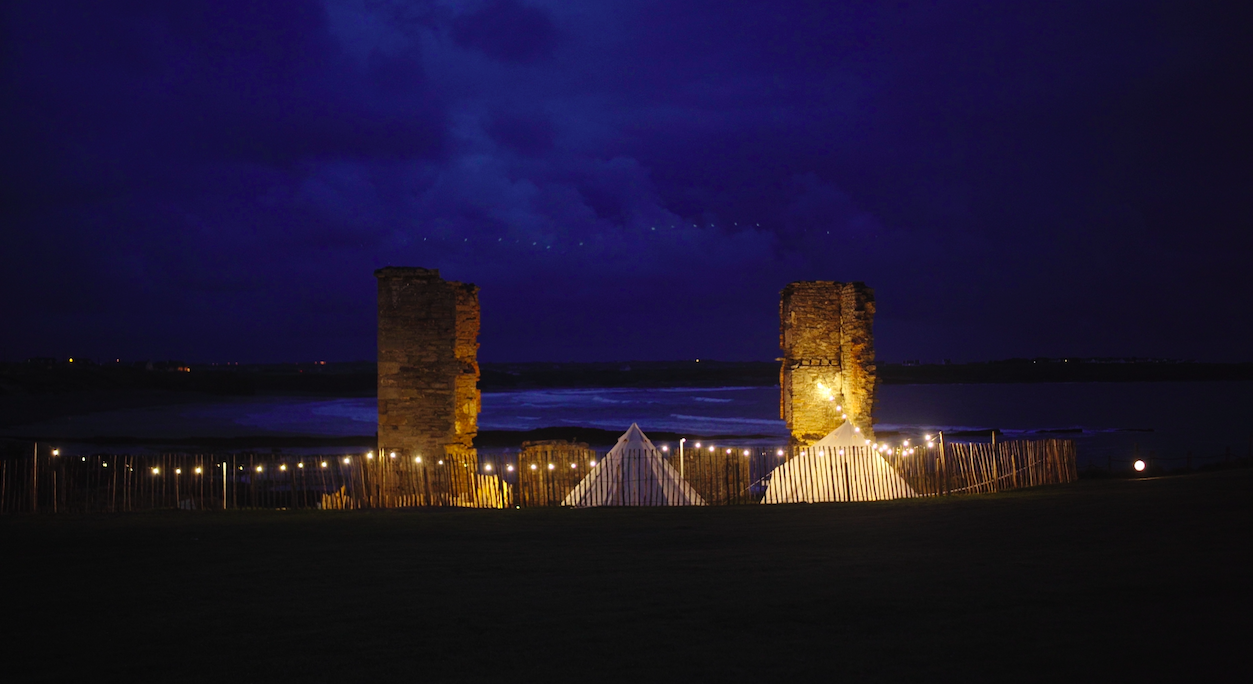 Glamping suites at the Armada Hotel