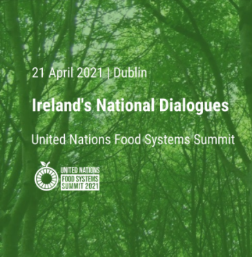 Sustainable Food Systems and Ireland's 2030 Agri-Food Strategy 2.30pm on Wednesday, April 21